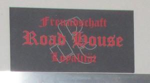 """Schild über Theke des """"Road House"""" - dem ehemaligen Clubhaus des RC OWL"""